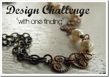 With one Finding Design Challenge Logo
