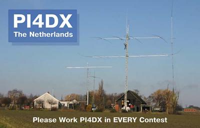 Ham radio station PI4DX