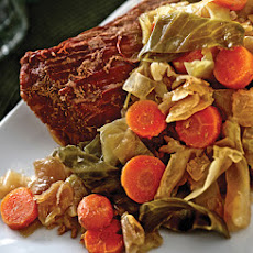 Irish Channel Corned Beef and Cabbage