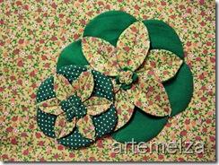 artemelza - flor em círculo
