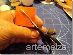 artemelza - cenoura de feltro