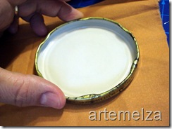 artemelza - enfeite para vidro