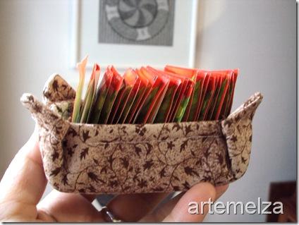 artemelza - cestinha para adoçante