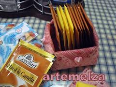 artemelza - cesta para chá