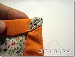 artemelza - flor estrela de 4 pontas