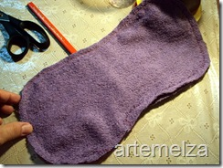 artemelza - anjo feito com toalha