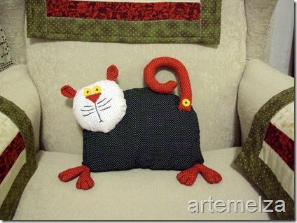 artemelza - almofada de gatinho