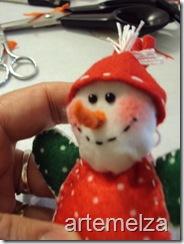 artemelza - boneco de neve