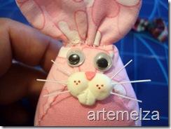 Artemelza - coelha com molde da coruja -28