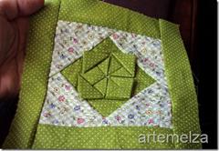 artemelza - flor feita com quadrado