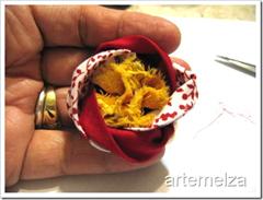 artemelza - flor com 4 quadrados