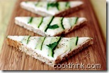 cucumber cream cheese