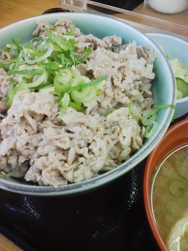 らんぷ亭 塩牛丼