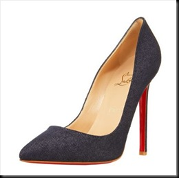 Christian Louboutin Pigalle Denim Pump