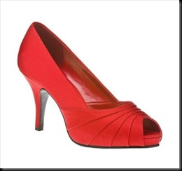 Mossimo Isabella Peep-toe Pump Red