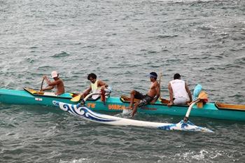 Les Hakamaii sur le départ...
