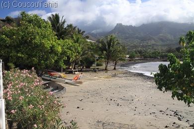 Pas trop de dégâts sur la plage