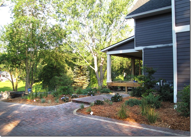 Shaped Driveway Landscaping : The quot l shaped house landscaping driveway wrap up