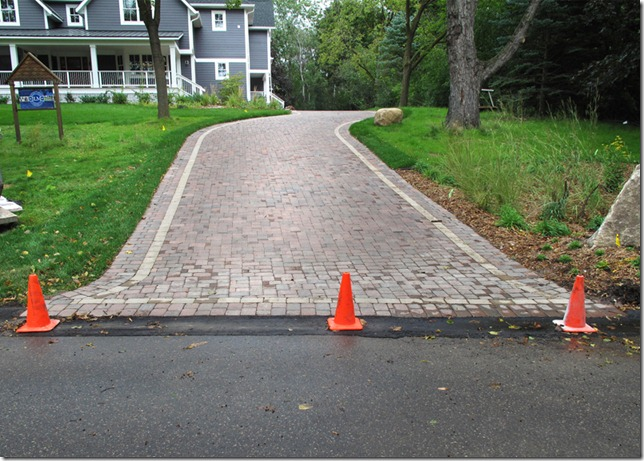 Shaped Driveway Landscaping : The quot l shaped house landscaping day