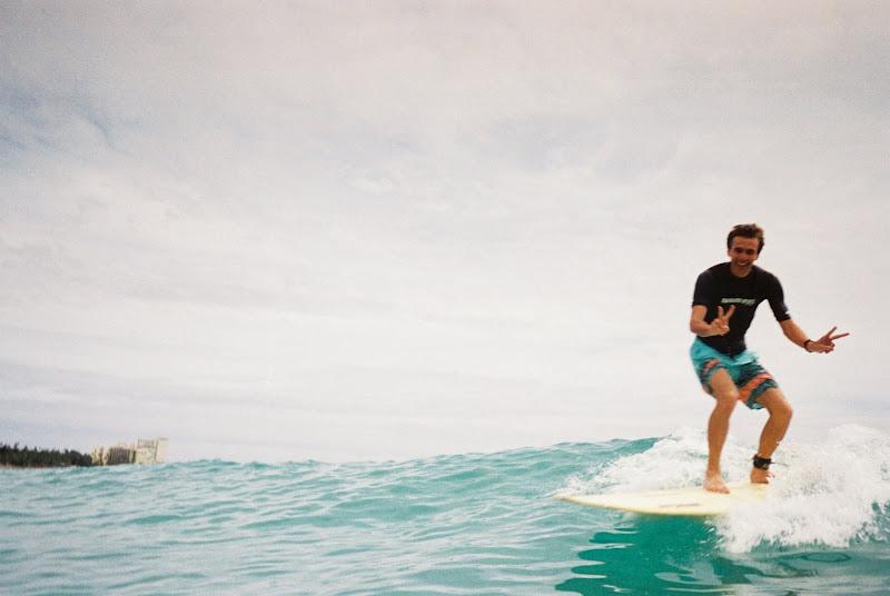 Ich am surfen....