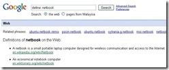 define netbook