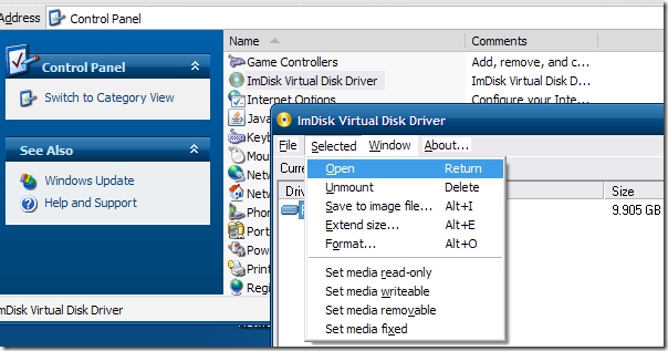 how to access k drive