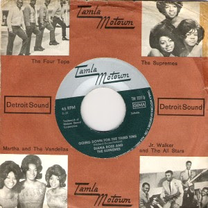 Diana Ross & The Supremes - Going Down For The Third Time / Reflections