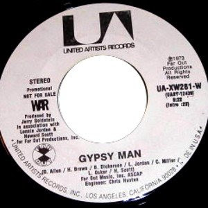 War - Gypsy Man [Promo]
