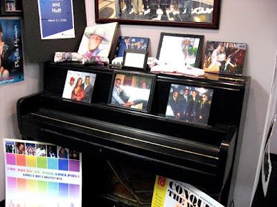 Klavier von Kenny Gamble und Leon Huff, Philadelphia