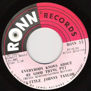 Little Johnny Taylor - Everybody Knows About My Good Thing Part 1 / Part 2