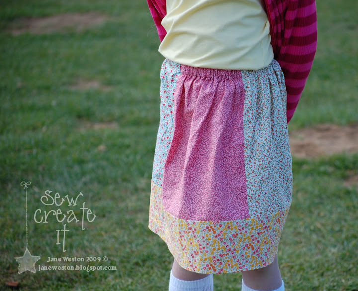 Crafty Chic: Easy Sew Skirt - Mormonchic.com -- The online