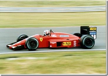 Berger Ferrari 1987