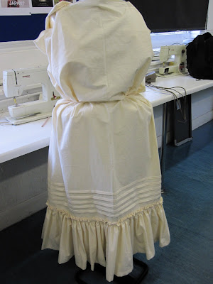 Petticoat arranged on the stand
