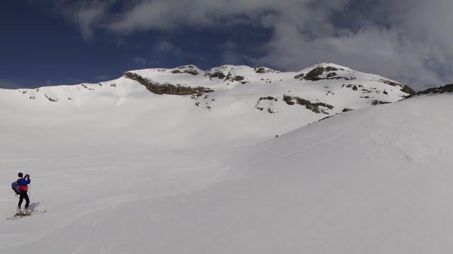 punta suelza, a 500 metros más arriba