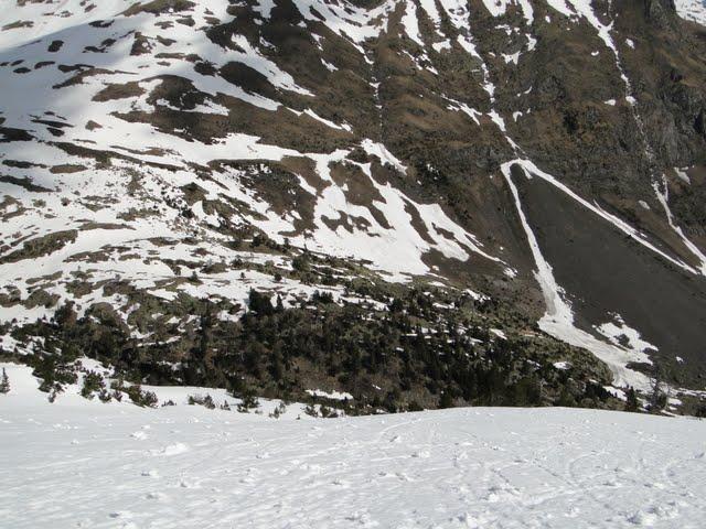 descendiendo al valle