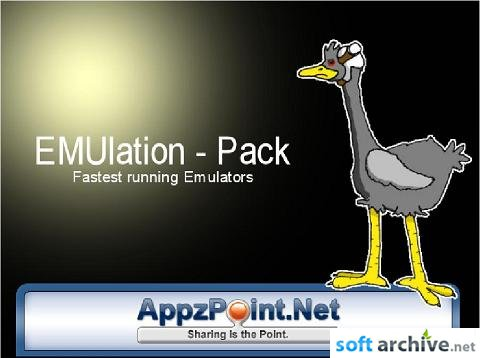 EMUlation - Pack (console emulators and roms) Eng | PC | Windows