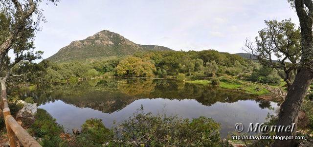 Laguna de El Picacho - Garganta de Puerto Oscuro