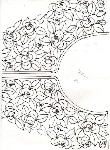 صور رشمات للطرز على القفطان - رشامي و رسومات للتطريز على القفاطين  رشمات للطرز القفطان رشامي رسومات