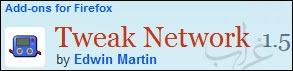إضافة Tweak Network لتسريع تصفح فايرفوكس