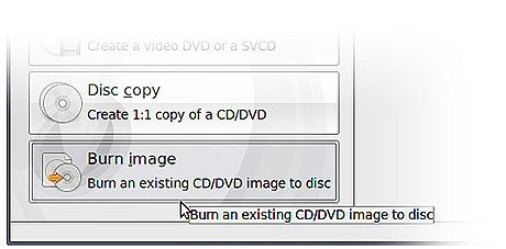 حرق قرص أوبونتو علي Blank CD