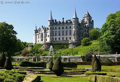 أجمل 42 قلعة حول العالم  Dunrobin_castle%5B7%5D