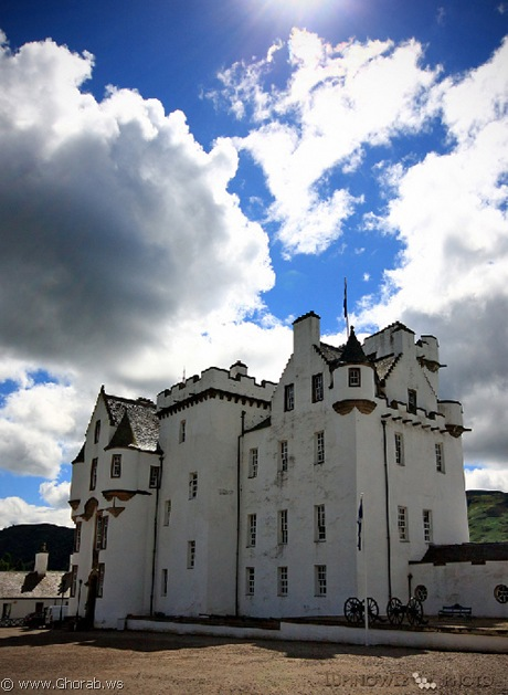 قلعة بلير - Blair Castle, أسكوتلندا