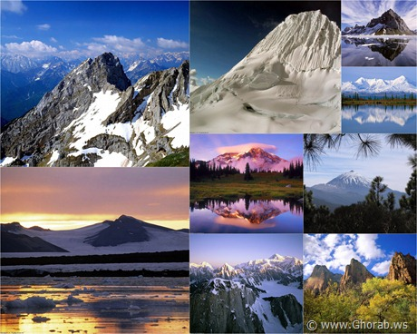 Worlds Greatest Mountains HQ Wallpapers