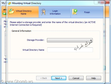 Mounting Virtual Directory