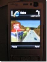 Vídeo rodando no N95