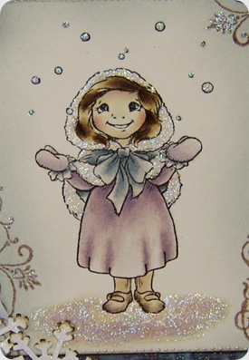 craft barn snow girl image