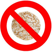 Rice Cakes Not Allowed