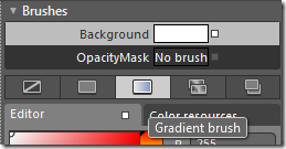 Gradient Brush Editor