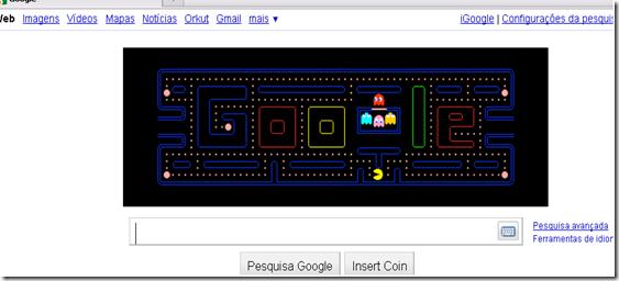 pacman no google