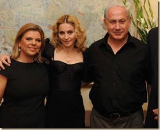 Madonna ja Netaneahu